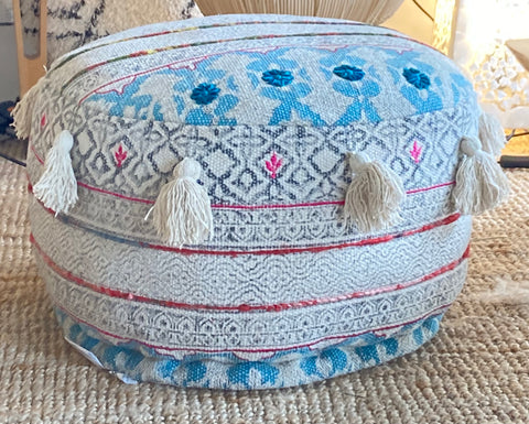 Tribal Pouffe