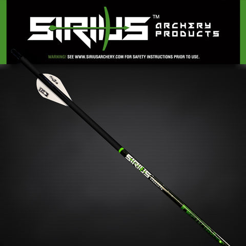 "ORION - 0.166 ID *UN-FLETCHED* 32""- 6-Pack"