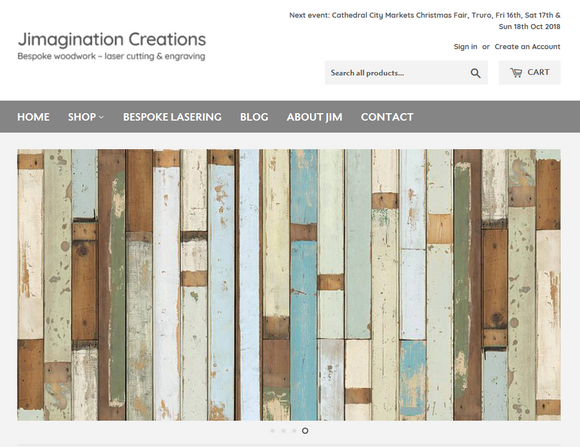 New Jimagination Creations website is a GO!