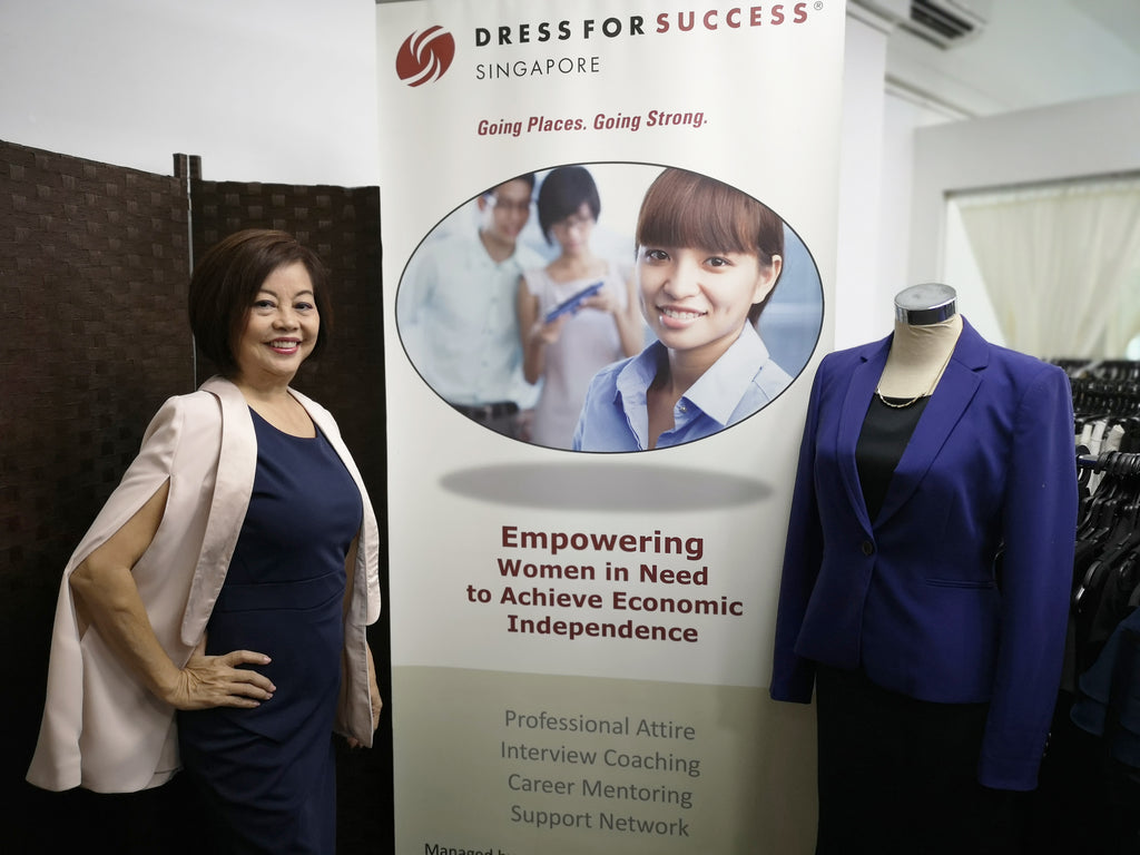 DRIVE: Pang Li-Kin of Dress for Success Singapore