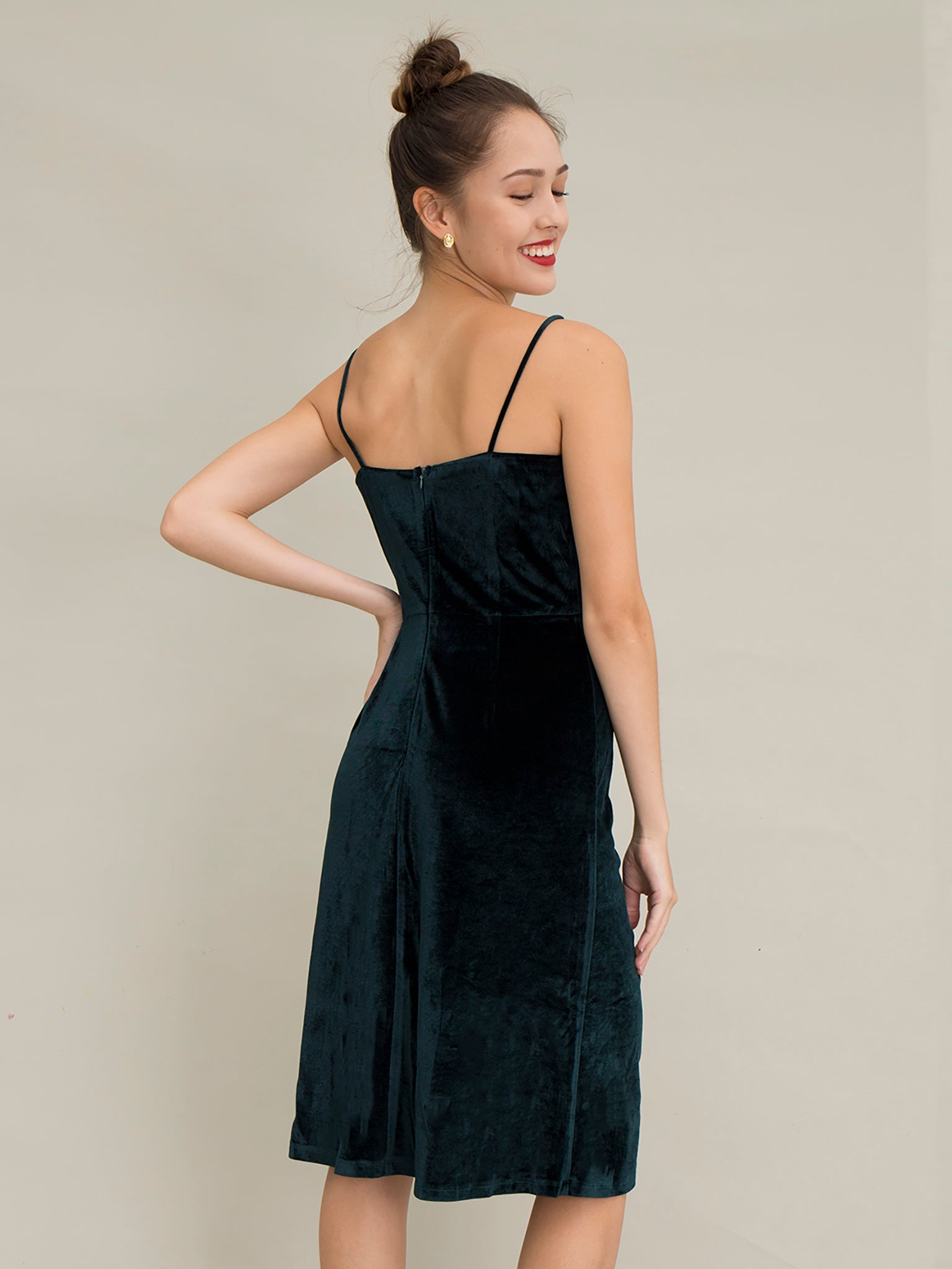 Covent Velvet Dress