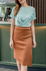 Morgan Fold Skirt
