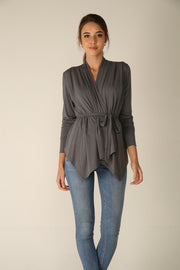 Margot Drape Cardigan