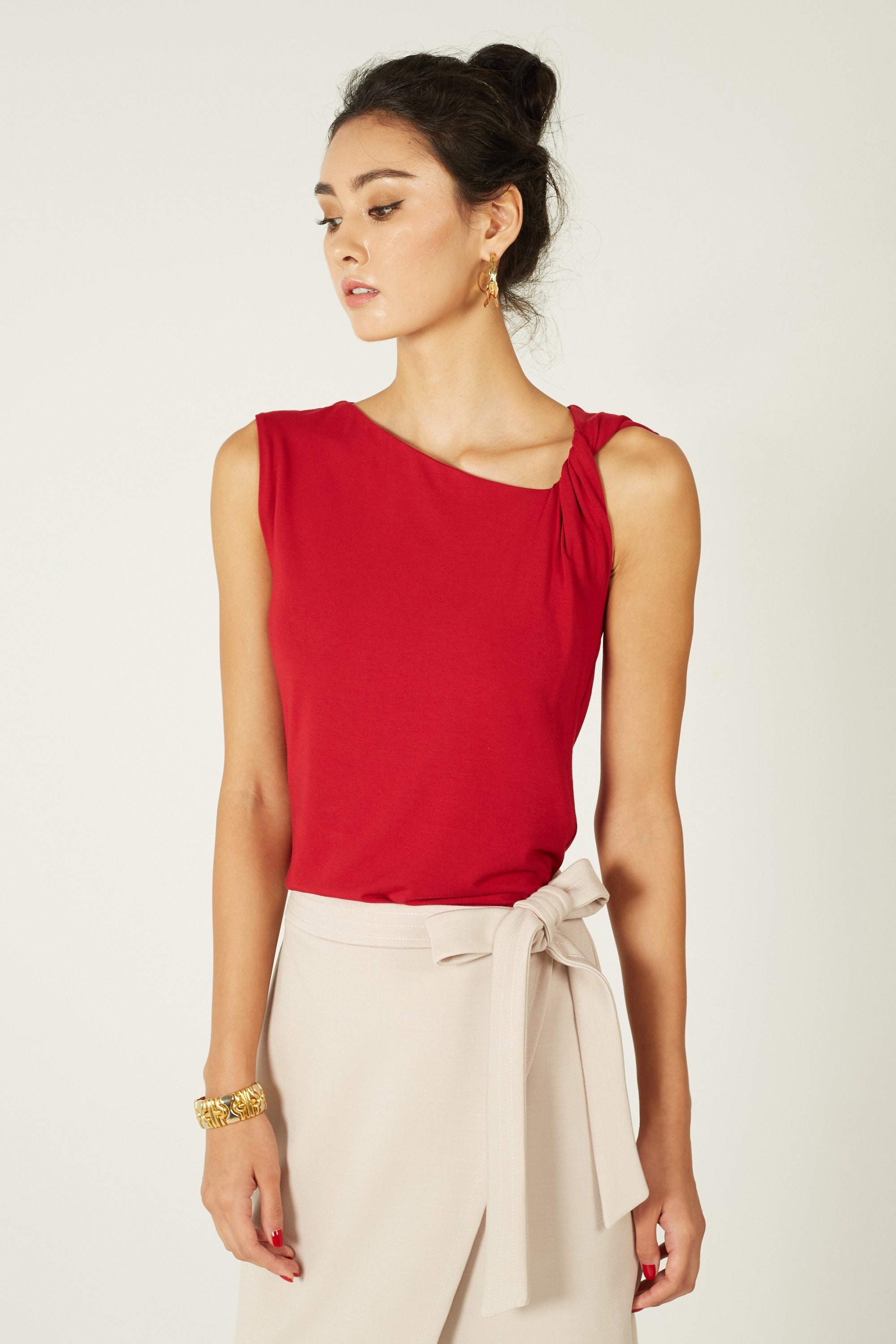Anne Knotted Top