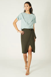 Lea Twist Top