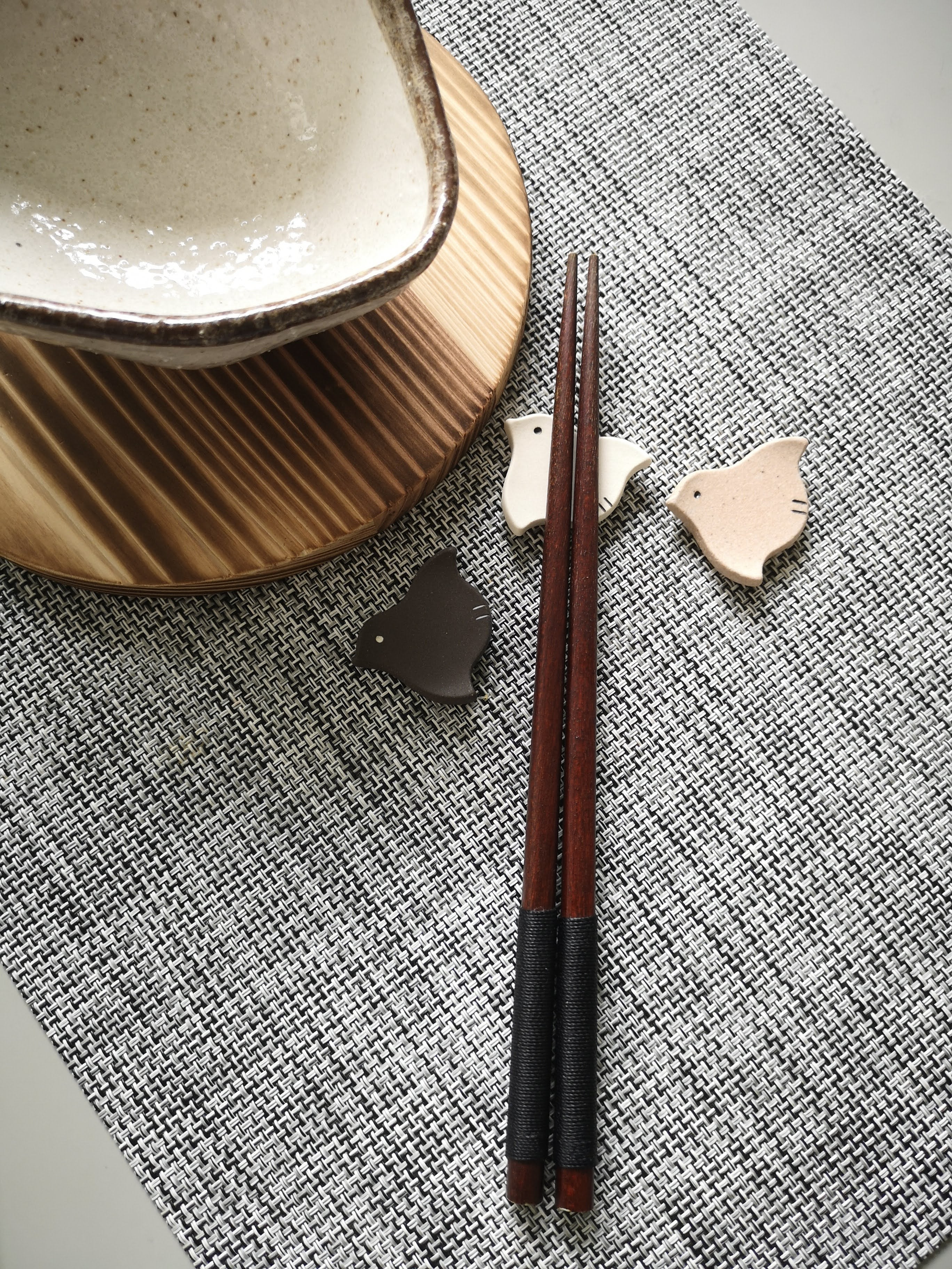 Tsubame Chopstick Holder (Set of 3)