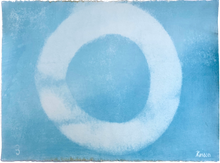 Load image into Gallery viewer, Enso #3, Light Blue