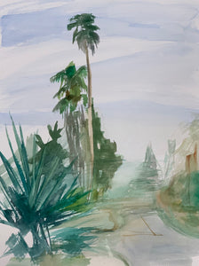 Agave and Palms, Devisadero Street