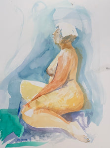 Nude Woman from the Side