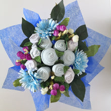Load image into Gallery viewer, A Royal Blue Baby Clothes Bouquet