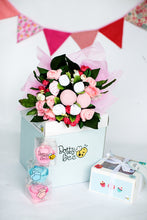 Load image into Gallery viewer, An Adorable Sugar Pink Baby Clothes Bouquet