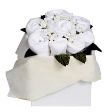 Load image into Gallery viewer, Classic White Blossom Box Bouquet