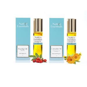 Mama & Baby - Neutral Yellow Bouquet with Soothe & Repair Oils Gift Hamper