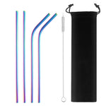 Iridescence Stainless Steel Straw - Shell&Turtle