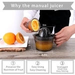 Portable Manual Juicer Squeezer - Shell&Turtle