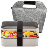 Bento 2 Tier Lunch Box&Lunch Bag - Shell&Turtle