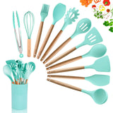 Silicone Cooking Utensils Set -11pc - Shell&Turtle