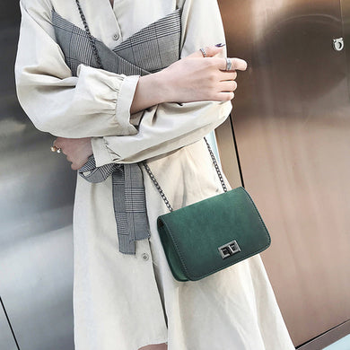 Women Messenger Bags Girl Fashion Style Solid