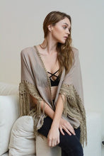 Load image into Gallery viewer, Mocha Medallion Kimono with Armholes