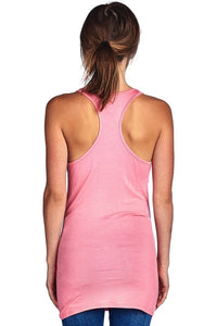 Brunch Mimosas Racer Back Scoop Neck Tank Top