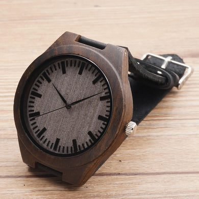 Limited Edition Bamboo Wooden Watches