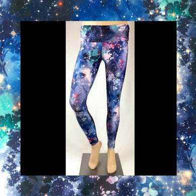Midnight Galaxy Fields Forever Leggings