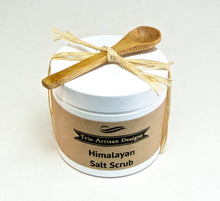 Load image into Gallery viewer, Himalayan Salt Scrub with Mini Wood Spoon