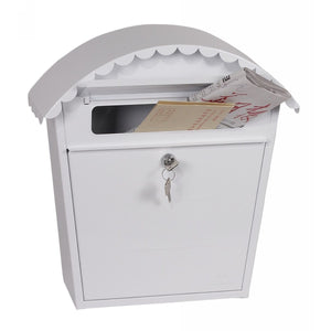 Phoenix Clasico Front Loading Mail Box MB0117KW (White)