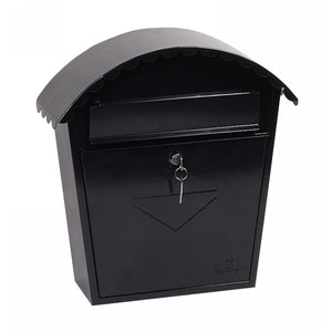 Phoenix Clasico Front Loading Mail Box MB0117KB (Black)