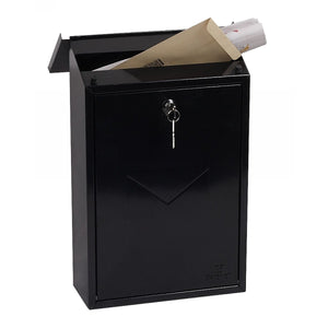 Phoenix Villa Top Loading Mail Box MB0114KB (Black)