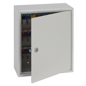 Phoenix Deep Plus & Padlock Key Cabinet KC0501K - 24 Hook Capacity