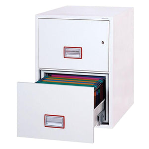 Phoenix World Class Vertical Fire Rated Filing Cabinet - FS2262K (2 Drawers)