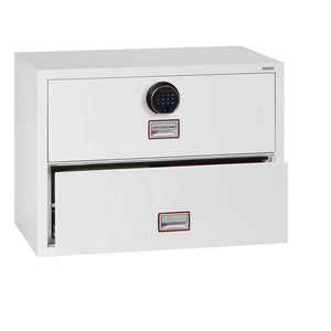 Phoenix World Class Lateral - Fire Rated Filing Cabinet FS2412F (4 Drawers)
