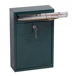 Phoenix Letra Front Loading Mail Box MB0116KG (Green)