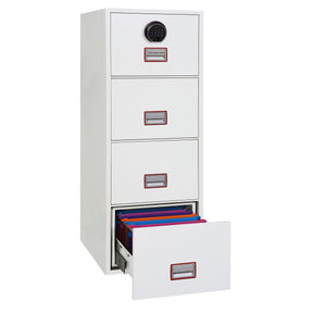Phoenix World Class Vertical Fire Rated Filing Cabinet - FS2254F (4 Drawers)