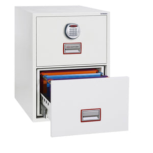 Phoenix World Class Vertical Fire Rated Filing Cabinet - FS2272E (2 Drawers)