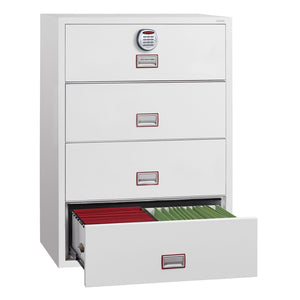 Phoenix World Class Lateral - Fire Rated Filing Cabinet FS2414E (4 Drawers)