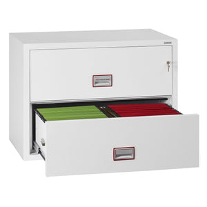 Phoenix World Class Lateral - Fire Rated Filing Cabinet FS2412K (2 Drawers)