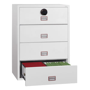 Phoenix World Class Lateral - Fire Rated Filing Cabinet FS2414F (4 Drawers)