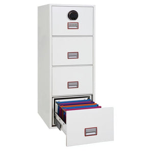 Phoenix World Class Vertical Fire Rated Filing Cabinet - FS2264F (4 Drawers)