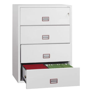 Phoenix World Class Lateral - Fire Rated Filing Cabinet FS2414K (4 Drawers)