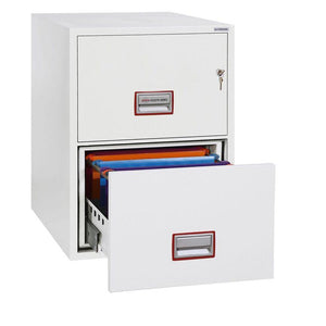 Phoenix World Class Vertical Fire Rated Filing Cabinet - FS2272K (2 Drawers)