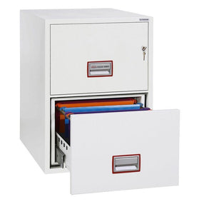 Phoenix World Class Vertical Fire Rated Filing Cabinet - FS2252K (2 Drawers)