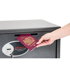 Phoenix Vela Deposit Home & Office Safe SS0802KD Size 2