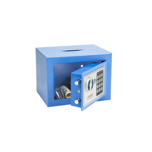 Phoenix Compact Home Safe SS0721EBD (Blue) - Electronic Lock & Deposit Slot