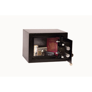 Phoenix Compact Home Safe SS0721K (Black) - Key Locking
