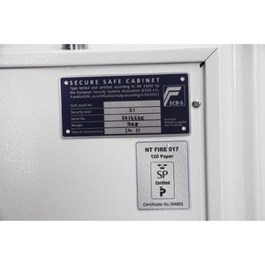Phoenix Home and Office Fire Safe - Fire Fox SS1623E Size 3