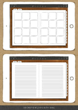 Load image into Gallery viewer, This version of the Ultimate Life Binder™ is the Bullet Journal edition. It's full of printables designed to help you take 100% responsibility for your schedule, goals, health, finances, and life!