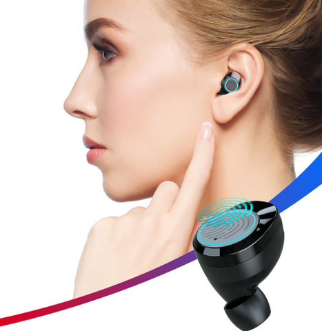 The Strongest True Touch Control Wireless Earbuds