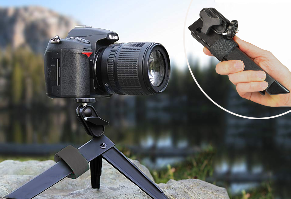 Versatile Lightweight Camera Tripod